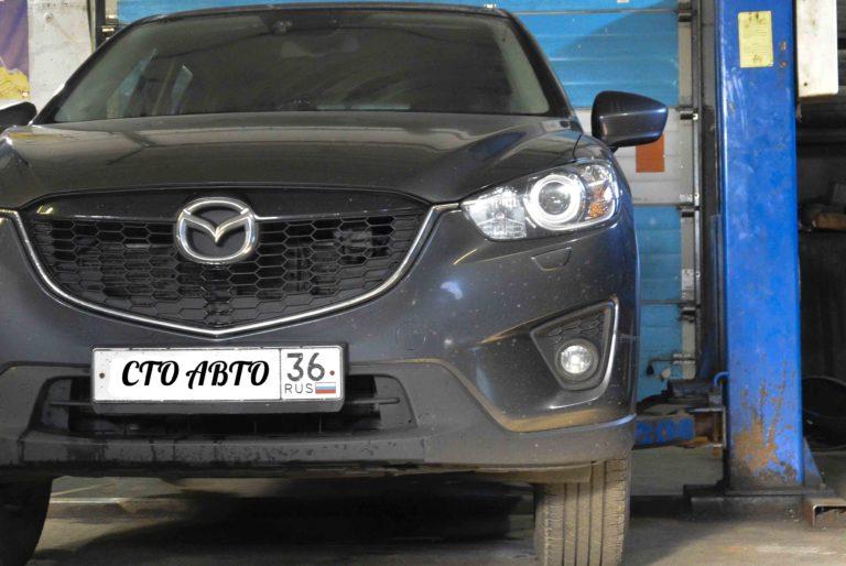 Плановое ТО Mazda CX-5