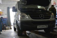 Замена масла, топленного фильтра и охлаждающей жидкости на Mercedes Sprinter