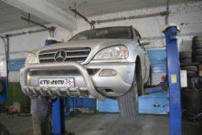 Ремонт Mercedes ML W163