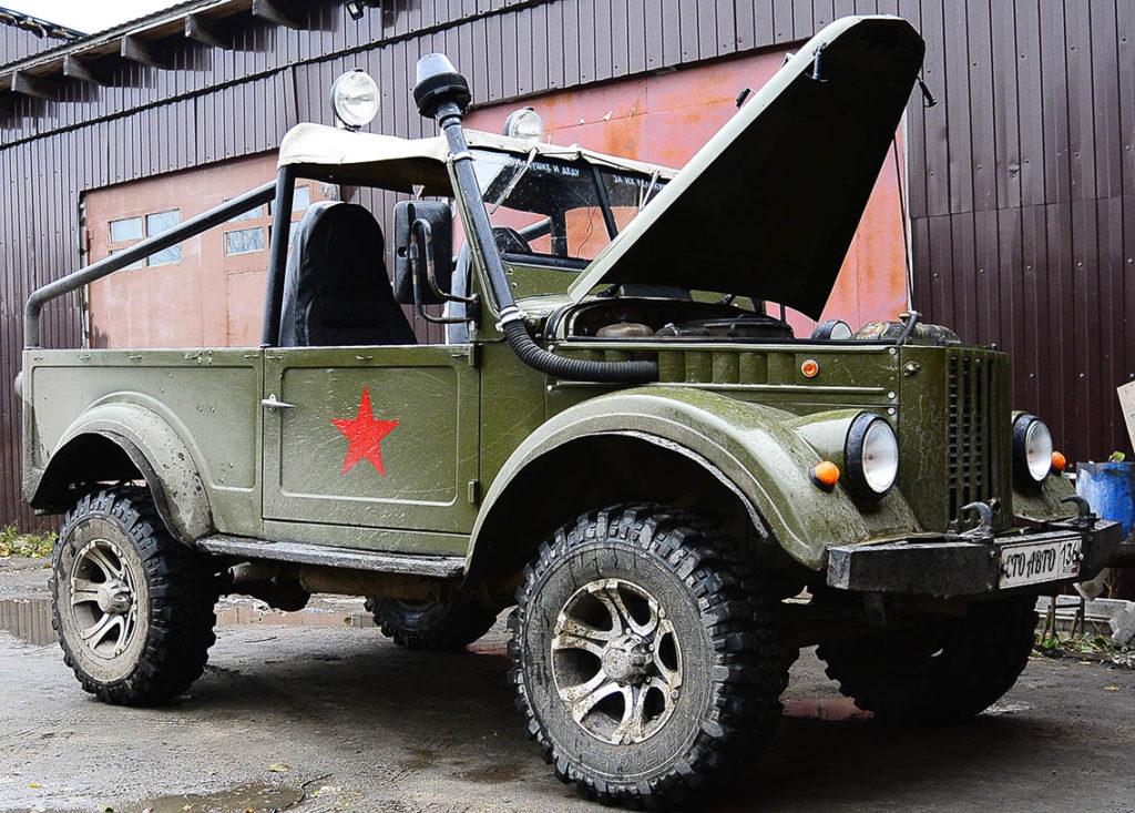 Ремонт ГАЗ 69