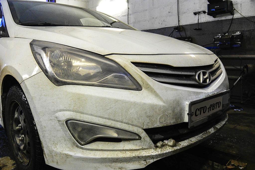 Развал-схождение Hyundai Solaris