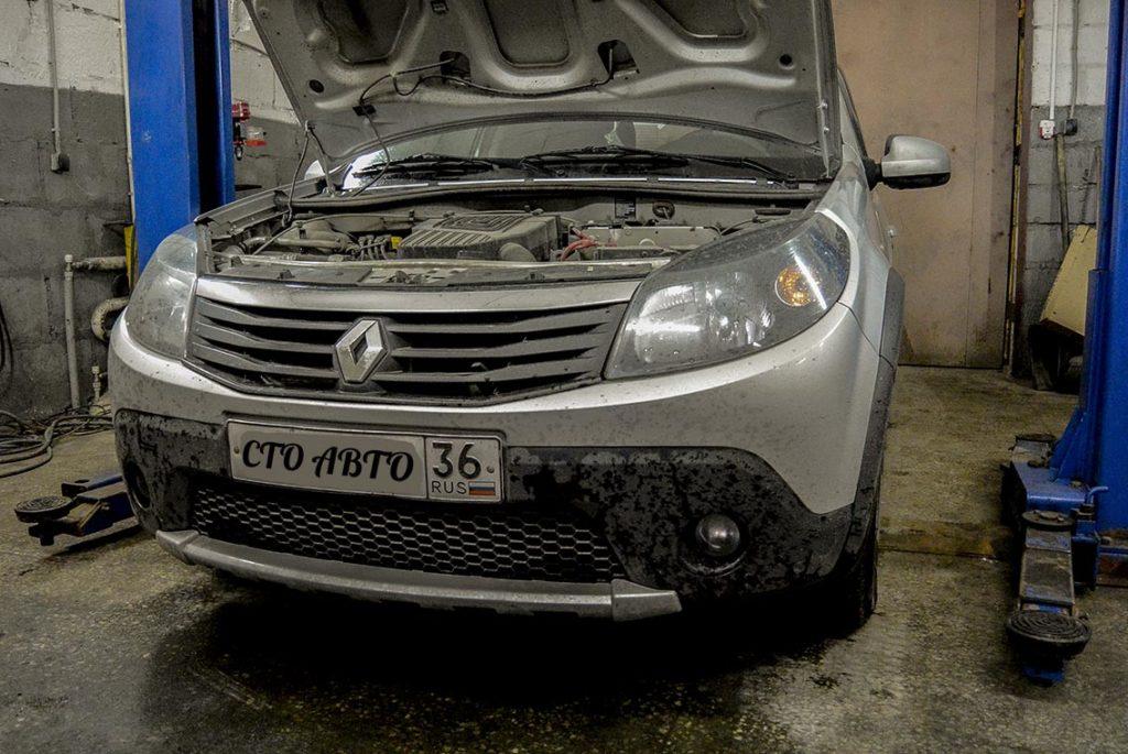 Ремонт Renault Sandero Stepway