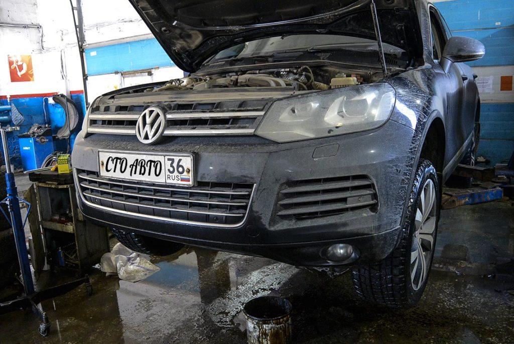 ТО Volkswagen Touareg